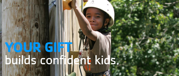 Your Gift Builds Confident Kids