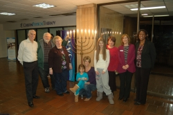 Chanukah Candle Lighting at YMCA Community