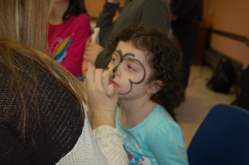 Kids Enjoying at Purim Party Bash