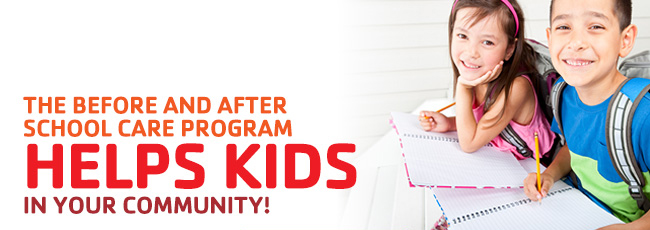 YMCA Before and afterschool program donate today